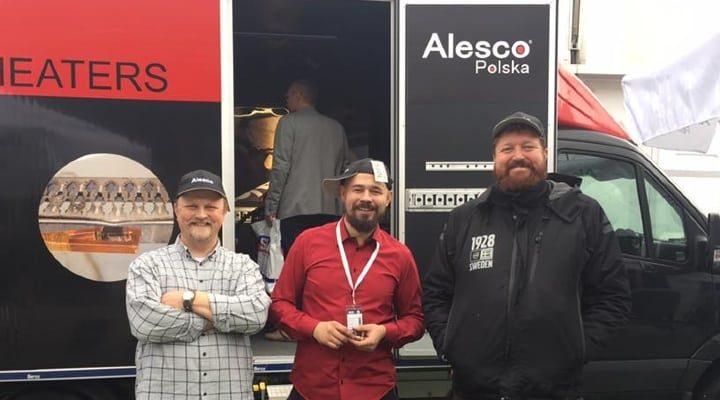 Alesco Polska ställer ut på Intercars i Warszawa